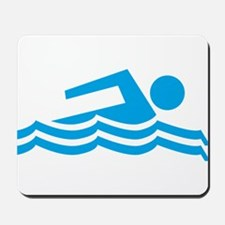 Swimmer Mousepad