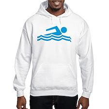 Swimmer Hooded Sweatshirt