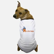 Letter N for Noah's name Dog T-Shirt