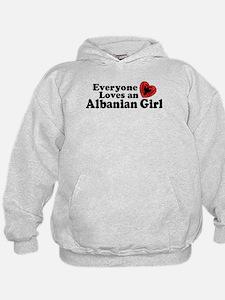 Albanian Girl Hoodie