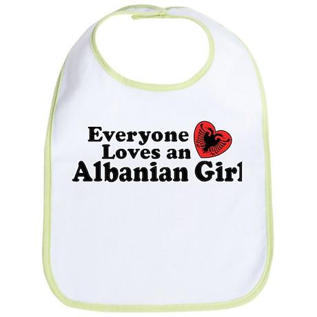 Albanian Girl Bib