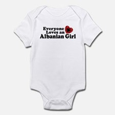 Albanian Girl Infant Bodysuit