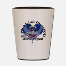 Cute Minot north dakota Shot Glass