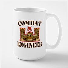 US Army Combat Engineer Gold Mug