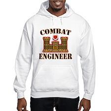 US Army Combat Engineer Gold Hoodie
