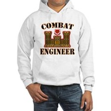 US Army Combat Engineer Gold Jumper Hoody