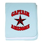 Captain Awesome Star baby blanket