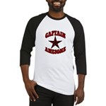 Captain Awesome Star Baseball Jersey