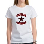 Captain Awesome Star Women's T-Shirt