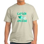Captain Awesome Boat Light T-Shirt