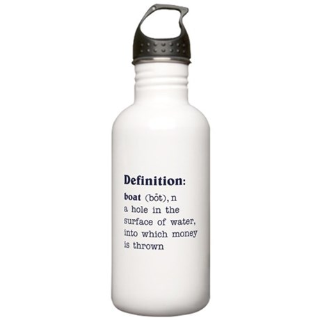 Boat Definition Stainless Water Bottle 1.0L