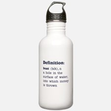 Boat Definition Water Bottle