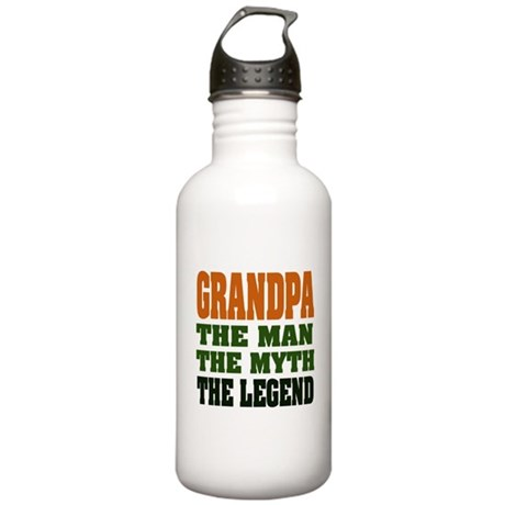 Grandpa - The Legend Stainless Water Bottle 1.0L
