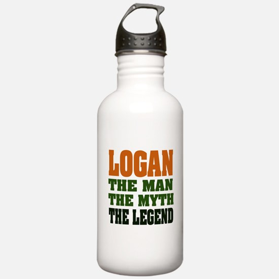 LOGAN - the legend! Sports Water Bottle