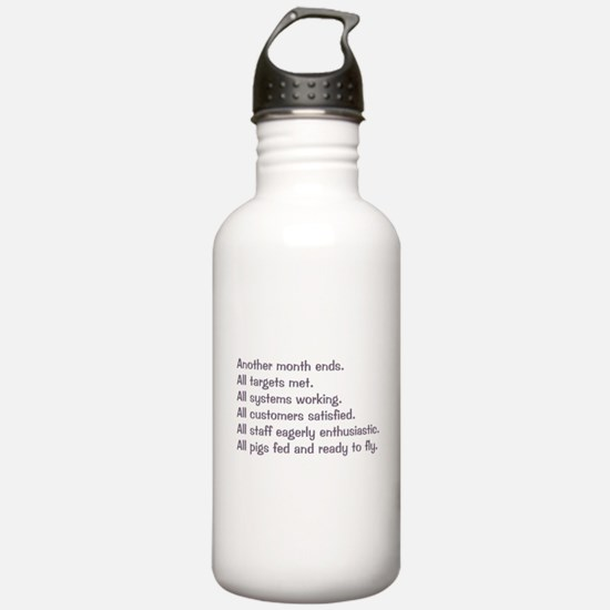 All Targets Met Sports Water Bottle