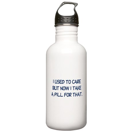 I Used to Care Stainless Water Bottle 1.0L
