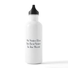 Best Sister in the World Water Bottle