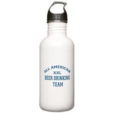 AA Beer Drinking Team Water Bottle