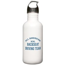 AA Back Seat Driving Team Water Bottle