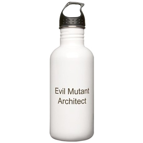 Evil Mutant Architect Stainless Water Bottle 1.0L