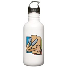 Carving Water Bottle