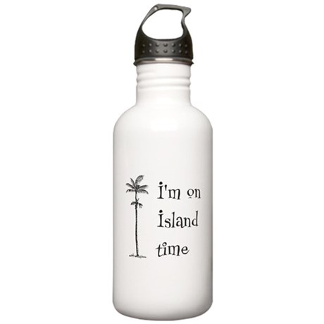 Island Time Stainless Water Bottle 1.0L