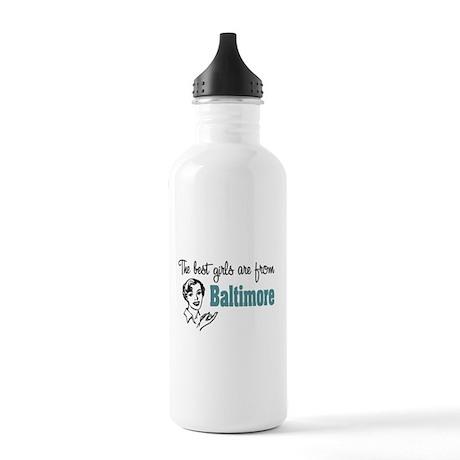 Best Girls Baltimore Stainless Water Bottle 1.0L