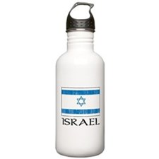 Israel Flag Water Bottle