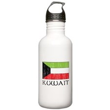 Kuwait Flag Water Bottle
