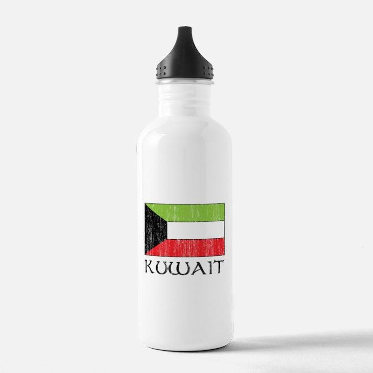 Kuwait Flag Water Bottle
