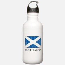 Scotland Flag Water Bottle
