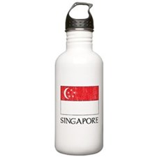 Singapore Flag Water Bottle