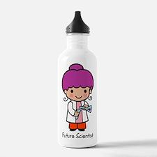 Future Scientist - girl Water Bottle