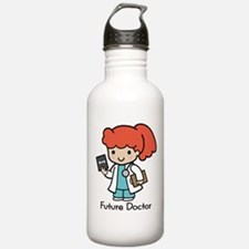 Future Doctor - girl Water Bottle