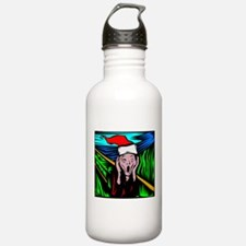 The Christmas Scream Water Bottle