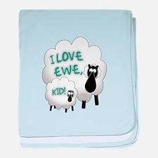 Love EWE! baby blanket