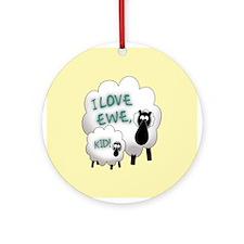 Love EWE! Ornament (Round)