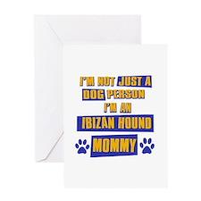 Ibizan hound Mommy Greeting Card