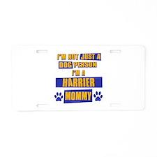 Harrier Mommy Aluminum License Plate