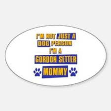 Gordon setter Mommy Decal