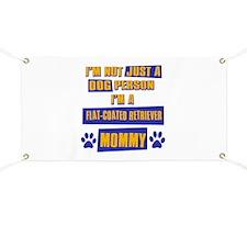Flat Coated Retriever Mommy Banner