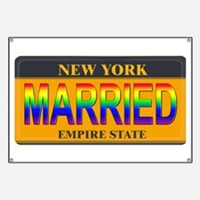 NY MARRIED Banner