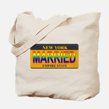 NY MARRIED Tote Bag