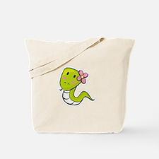 Sneaky Snake Tote Bag