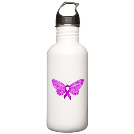 For the Cure Stainless Water Bottle 1.0L