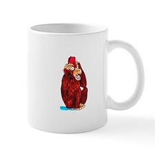 Paranoid Monkey Mug