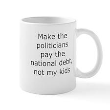 Cute National debt Mug