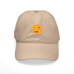 Shut Your Piehole Smiley Baseball Cap