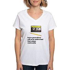 Cassette Tape Pencil Relation Shirt