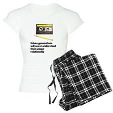 Cassette Tape Pencil Relation Pajamas